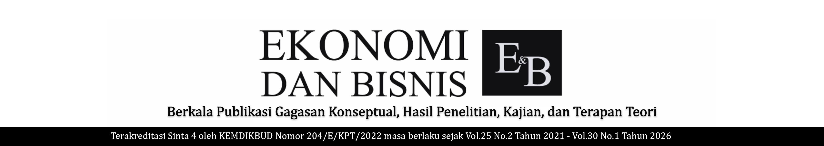JEB(Jurnal Ekonomi dan Bisnis) icon